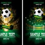 Soccer poster — Stock Vector #16784751