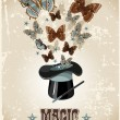 Magician's hat — Stock Vector