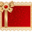 Royalty-Free Stock Imagen vectorial: Background on Valentines Day