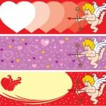 Valentine's Day Cupid — Stock Vector