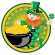 Leprechaun — Stock Vector #16784911