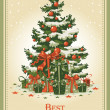 Royalty-Free Stock Imagen vectorial: Vintage Christmas card