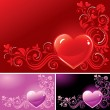 Royalty-Free Stock Vector Image: Valentine?s background