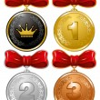 Medals — Stock Vector #16785591