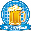 Oktoberfest beer — Stock Vector #16785643