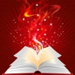 Magic book — Stock Vector