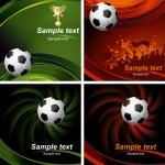 Soccer poster — Stock Vector #16786053