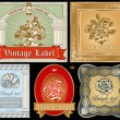 Royalty-Free Stock Vector Image: Vintage label set