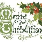 veselé vánoční přání — Stock vektor