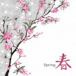 Royalty-Free Stock Vector Image: Sakura blossom