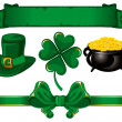 Set to St. Patrick's Day — Stock Vector