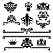 Gothic design elements - Stockvectorbeeld