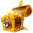 Stock vektor: Treasure Chest