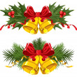 Christmas Bells — Vector de stock #16786905