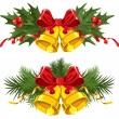 Vector de stock : Christmas Bells