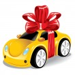 Car as a gift to you - Stock Vector