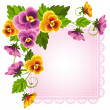 Stock Vector: Pansy