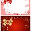 Background on Valentines Day — Vector de stock