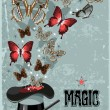 Magician&#039;s hat - Stock Vector