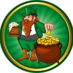 Leprechaun — Stock Vector #16787549