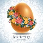 Vintage Easter egg — Stock Vector #16787553