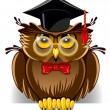 Wise owl - Imagen vectorial