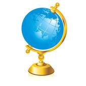 Glossy globe — Stock Vector