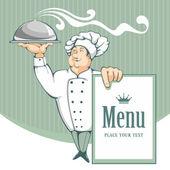 Chef — Stock Vector