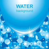 Water Background — Stock Vector