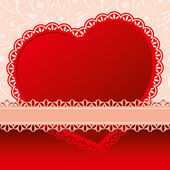 Background on Valentines Day — Stock Vector