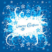 Christmass scroll Background. Vector. — Stock Vector