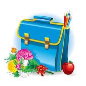 Back to school (vector illustration) — Stock Vector