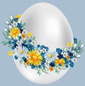 Vintage Easter egg — Stock Vector