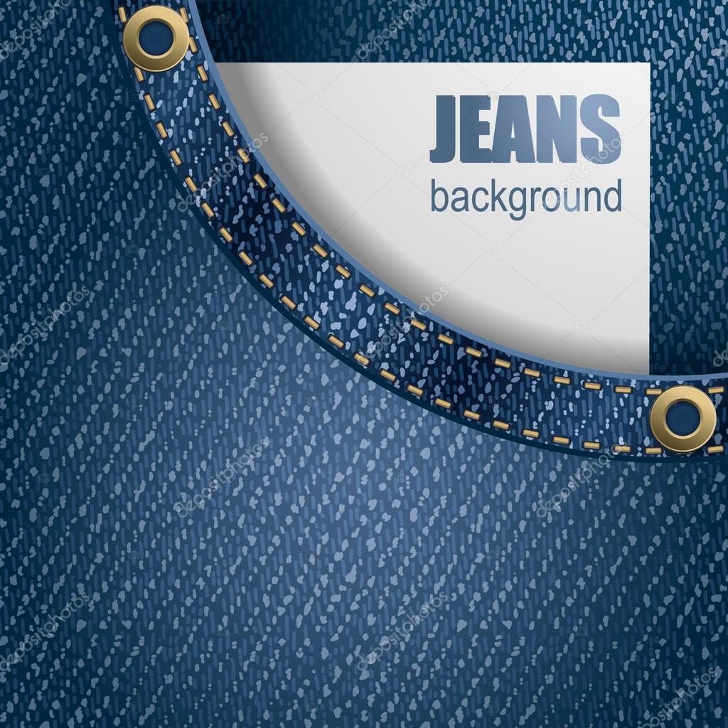 Jeans background u2014 Stock Vector u00a9 Pazhyna #16785771