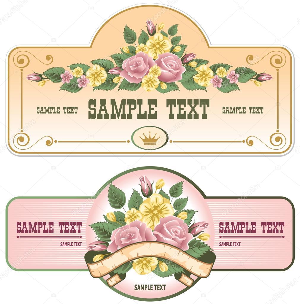 Vintage Labels Collection of vintage labels