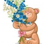 Teddy Bear toy — Stock Vector #19656503