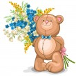 Royalty-Free Stock Vector Image: Teddy Bear toy