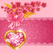 Royalty-Free Stock Immagine Vettoriale: Cute valentine card