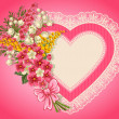 Cute valentine card - Image vectorielle