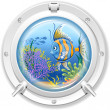 Porthole — Stock Vector