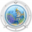 Stock Vector: Porthole