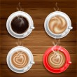 Coffee cups — Stock Vector #28125511
