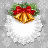 Christmas greeting — Stok Vektör
