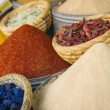 Moroccan spices — Stock Photo