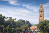 Mosque of the Marrakech — Stock Photo