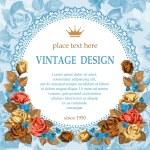 Vintage design — Stock Vector