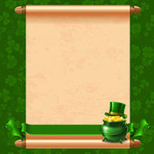 St.Patrick's Day background — Stock Vector
