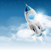Spaceship — Stock Vector