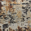 Stock Photo: Rusty metal wall