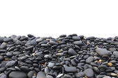 Smooth beach stones — Stock Photo